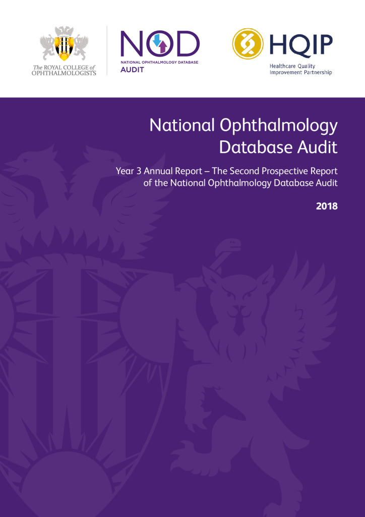 National Ophthalmology Database Audit Report 2018