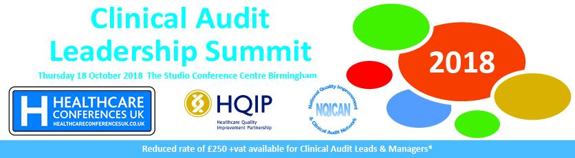 Clinical Audit Leadership Summit 2018