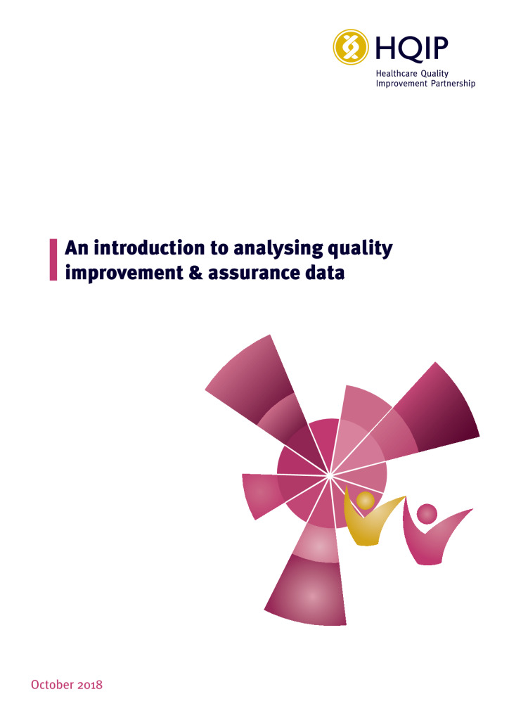 An introduction to analysing quality improvement and assurance data