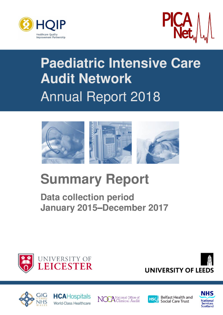 Paediatric Intensive Care Audit Network: Annual Report 2018