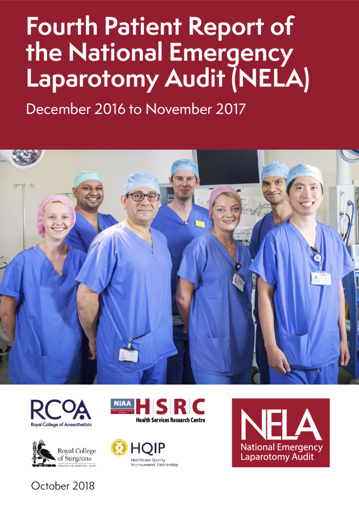 The Fourth Patient Report of the National Emergency Laparotomy Audit (NELA)