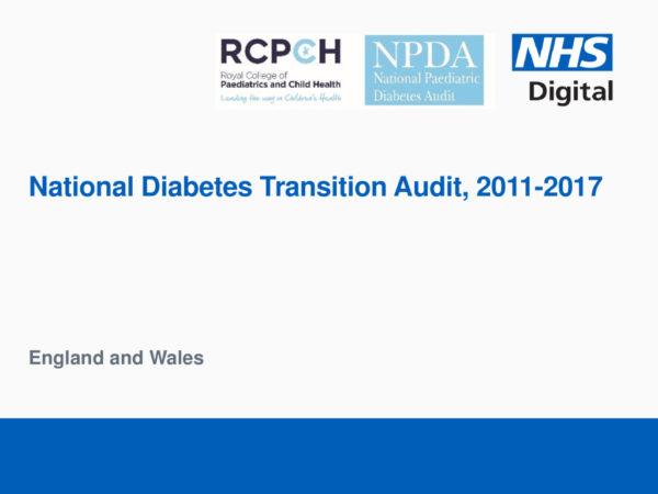 thumbnail of National Diabetes Transition Audit Report Final