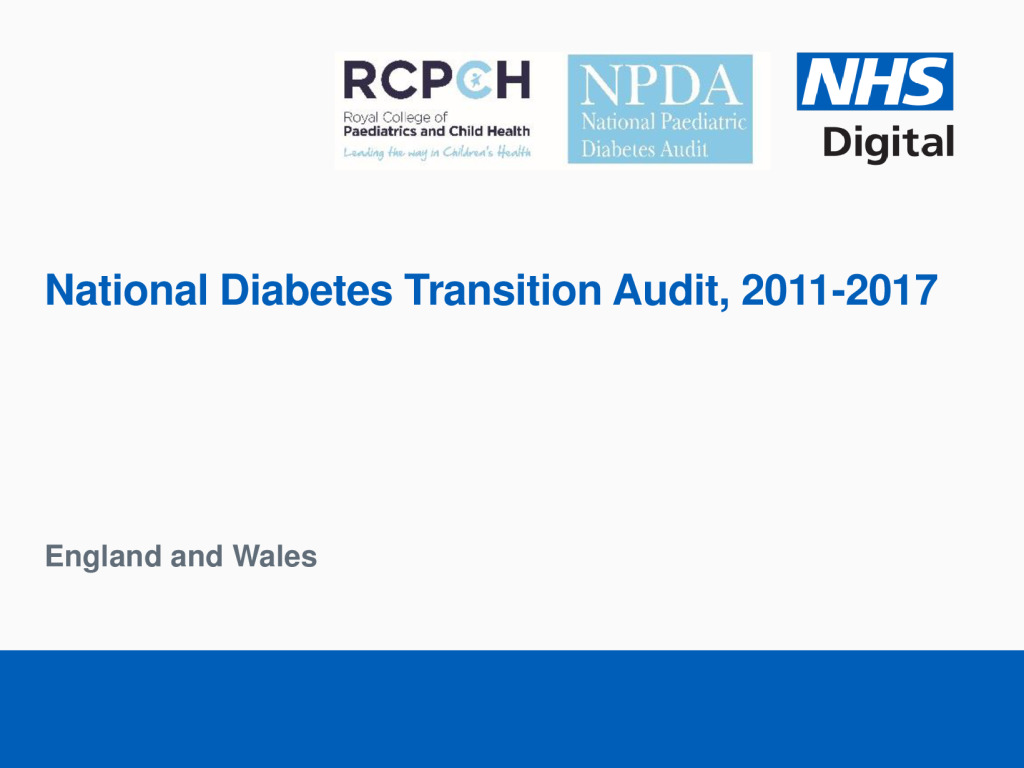 National Diabetes Transition Audit 2011-2017