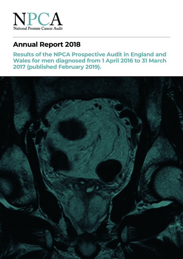 National Prostate Cancer Audit: Annual Report 2018
