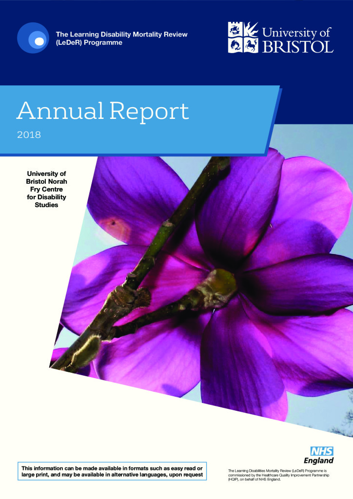 The Learning Disabilities Mortality Review – Annual Report 2018