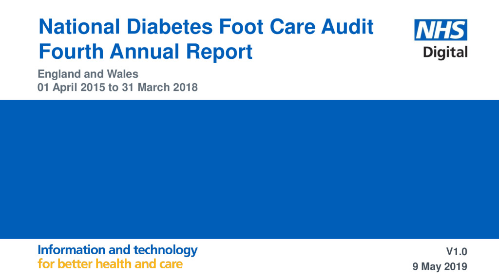National Diabetes Foot Care Audit: Fourth Annual Report