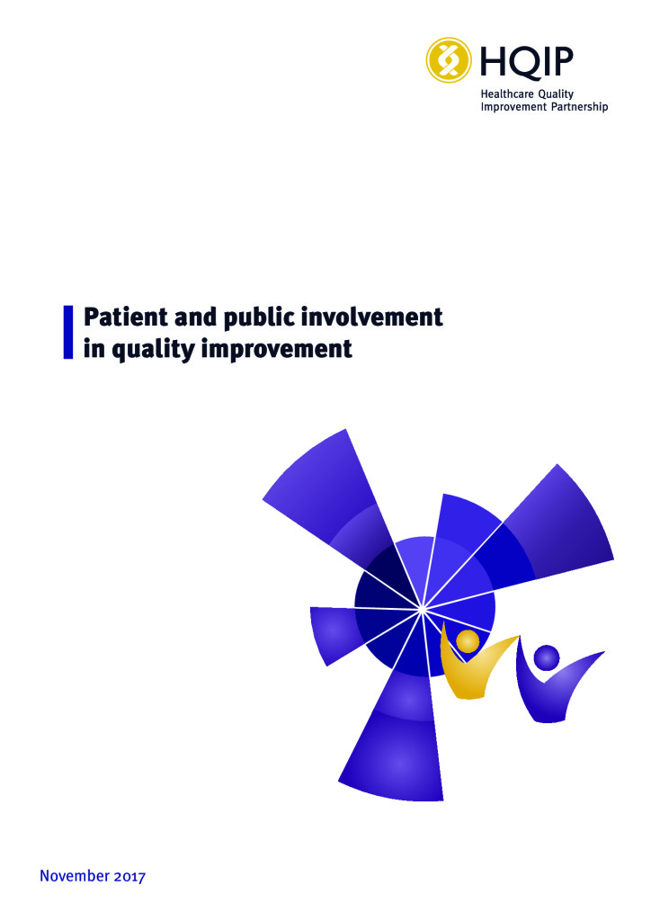 A guide to patient and public involvement in quality improvement