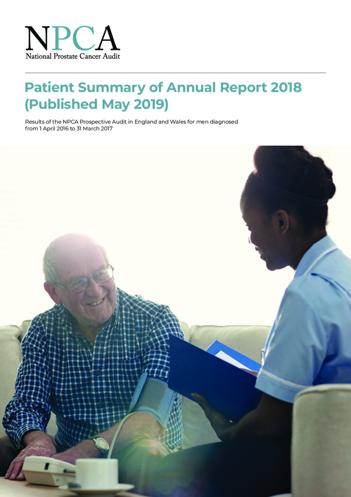 National Prostate Cancer Audit – Patient Summary 2018