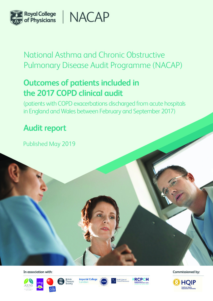 Chronic Obstructive Pulmonary Disease – Annual Outcomes Report 2019