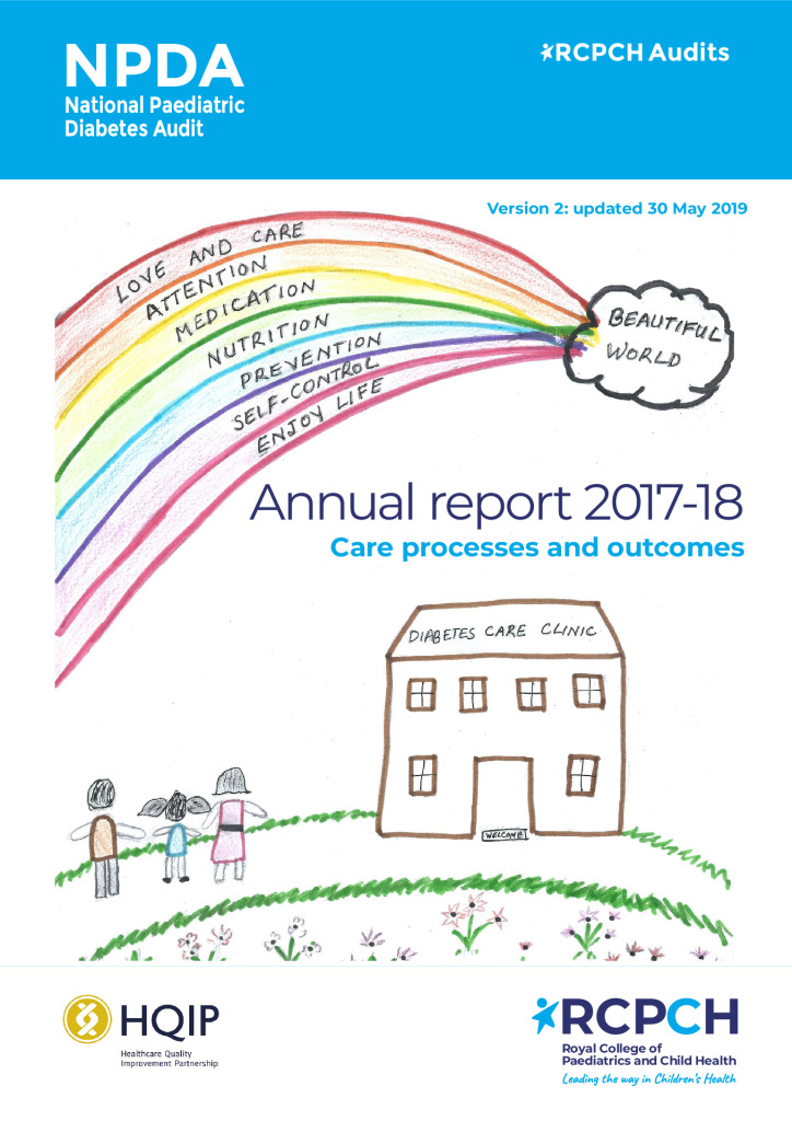 National Paediatric Diabetes Audit Report 2017-18: Care processes and outcomes