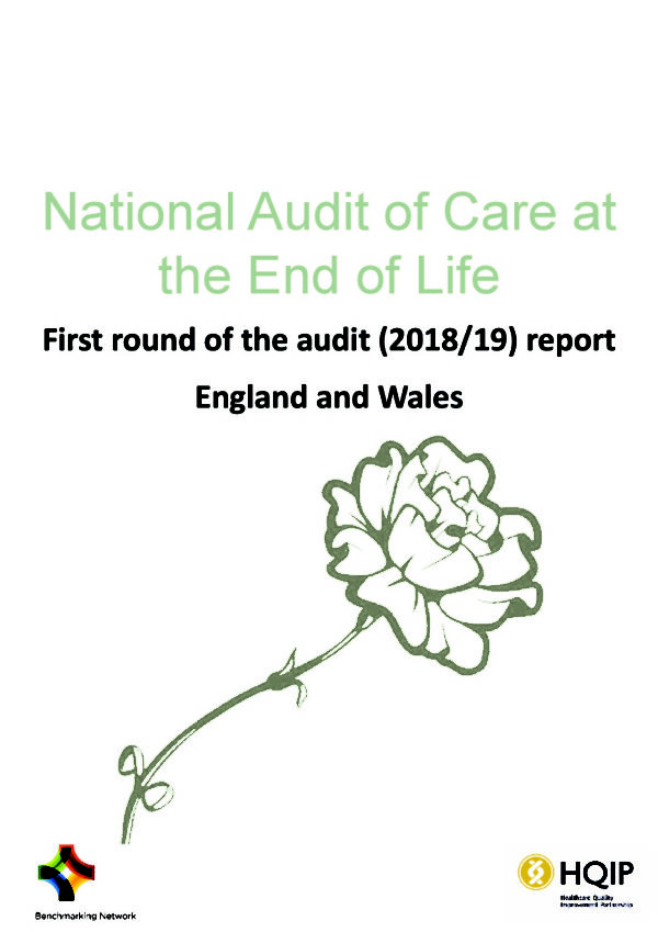 thumbnail of National Audit of Care at the End of Life – National Report 2018 FINAL