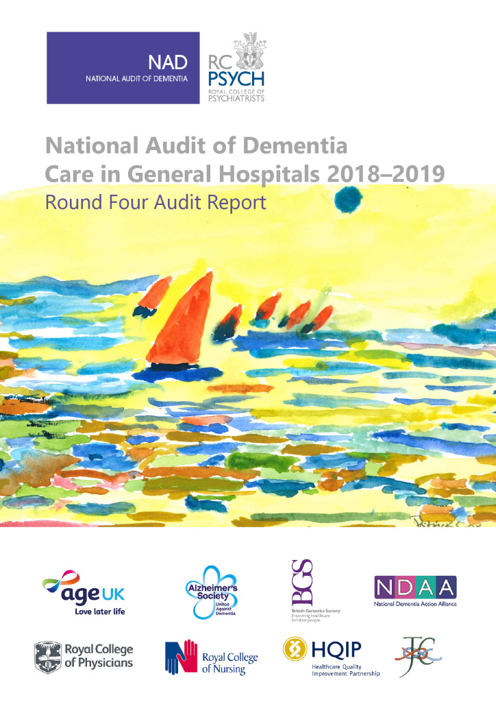 National Audit of Dementia – Round 4 Audit Report