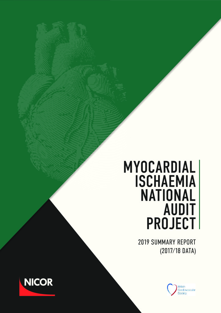 Myocardial Ischaemia National Audit Project (MINAP) – 2019 summary report