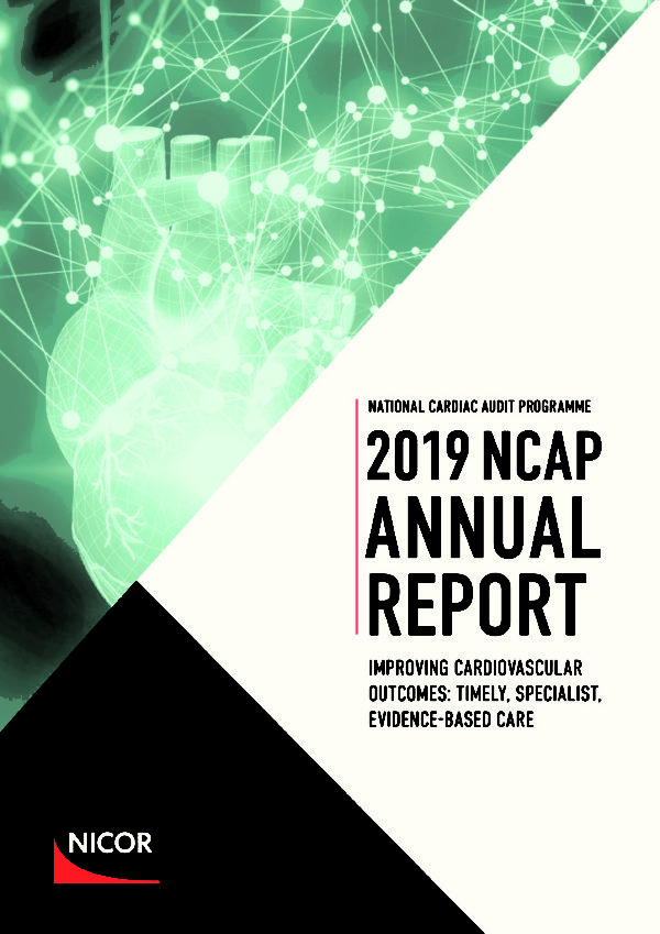 thumbnail of Ref 129, National Cardiac Audit Programme Annual Report 2019 FINAL