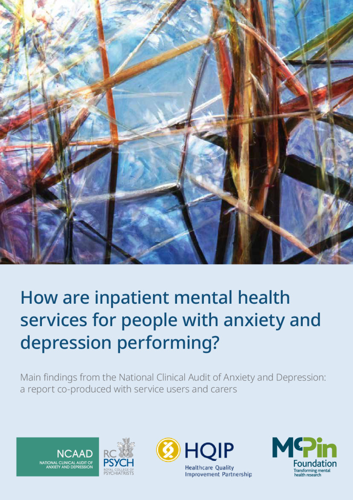National Clinical Audit of Anxiety and Depression: inpatient mental health services