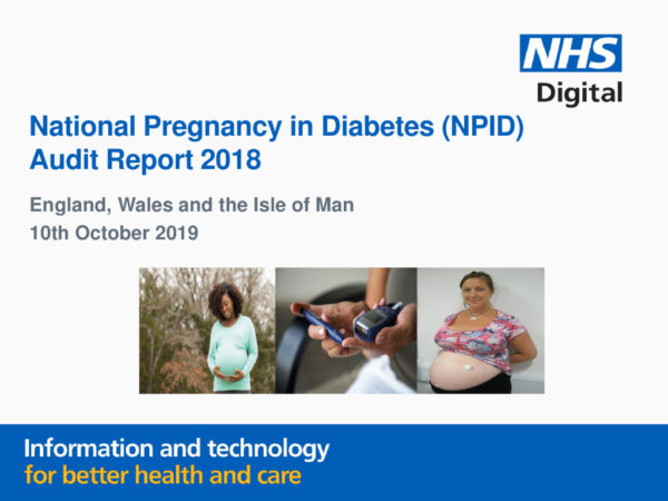 thumbnail of National Pregnancy in Diabetes Audit Report 2018