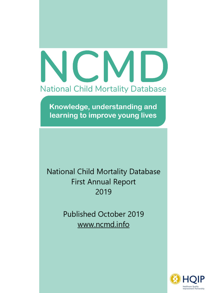 National Child Mortality Database – Annual Report 2019