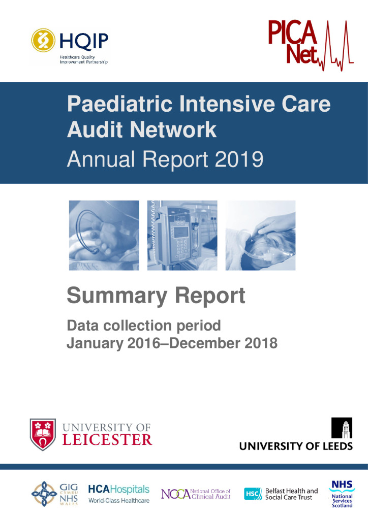 Paediatric Intensive Care Audit Network: Annual Report 2019