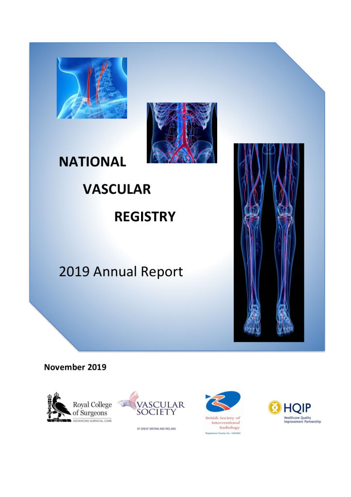 National Vascular Registry 2019 Annual Report
