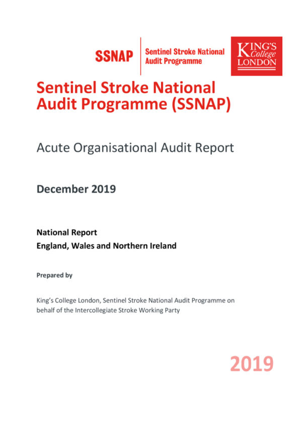 thumbnail of Ref 149 SSNAP Organisational audit report FINAL
