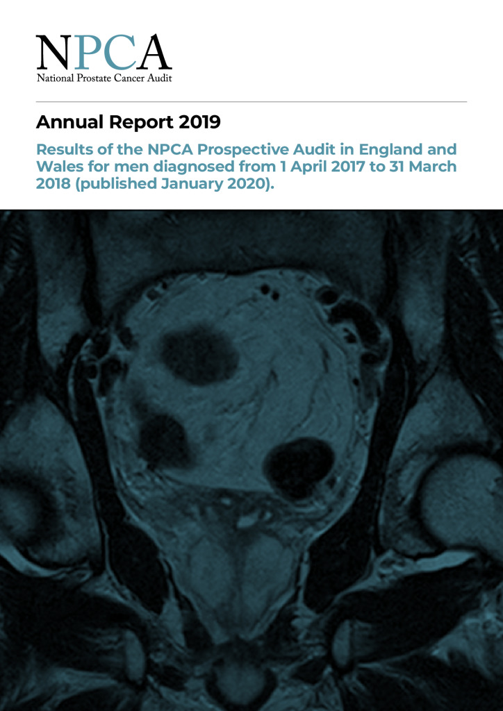 National Prostate Cancer Audit Annual Report 2019