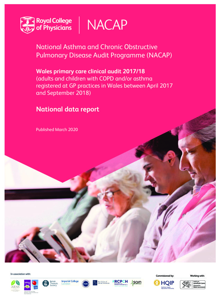 National Asthma and COPD Audit Programme: Wales primary care audit 2017/18