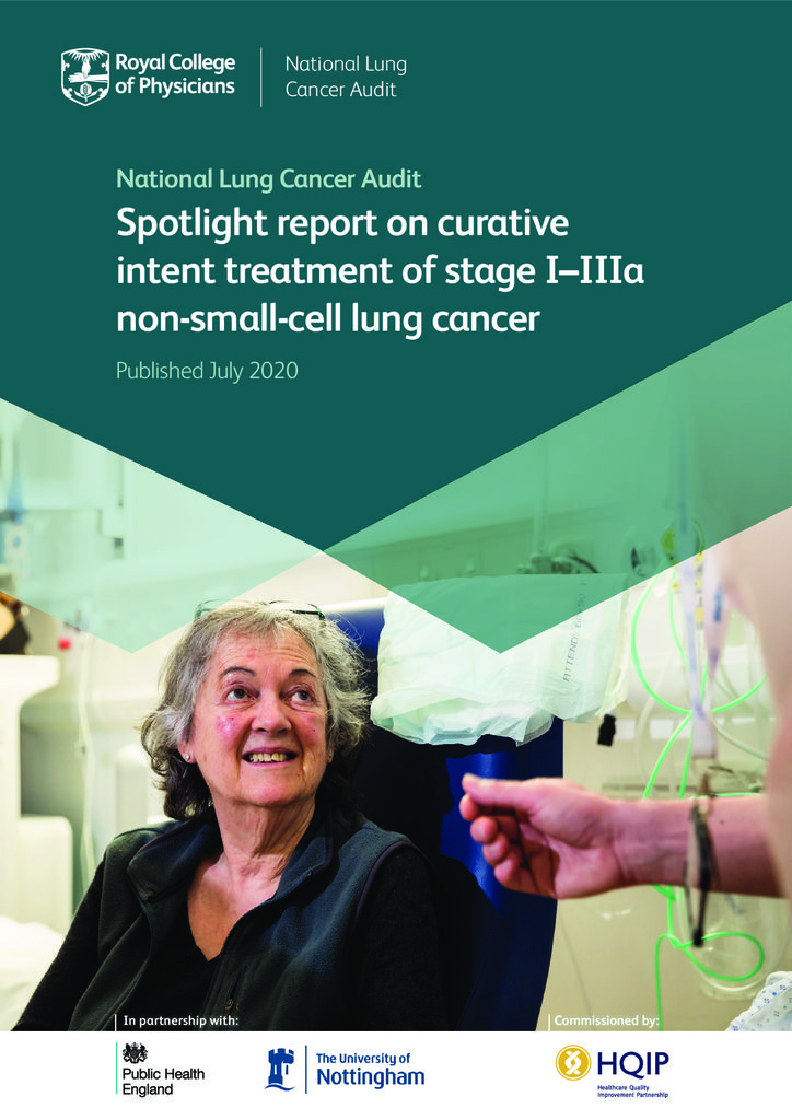 Spotlight report on curative intent treatment of stage I–IIIa non-small-cell lung cancer