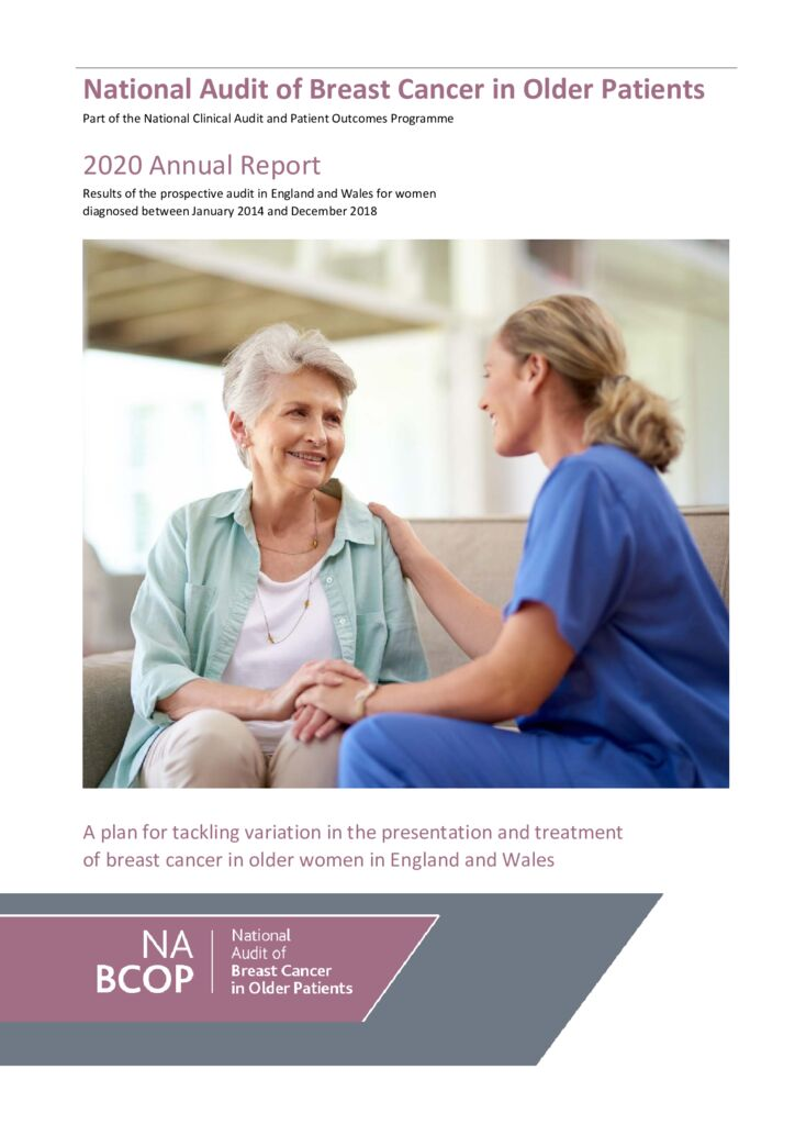 National Audit of Breast Cancer in Older Patients – 2020 Annual Report