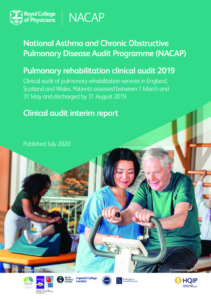 Pulmonary Rehabilitation Clinical Audit 2019 interim report