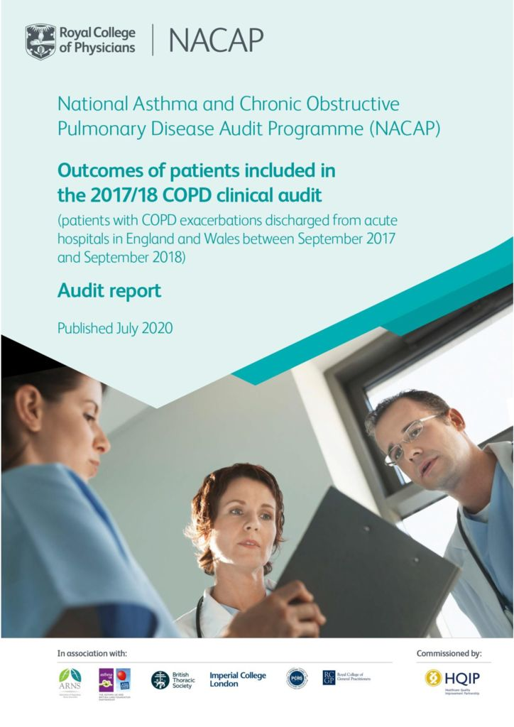 Chronic Obstructive Pulmonary Disease – Outcomes Report 2020