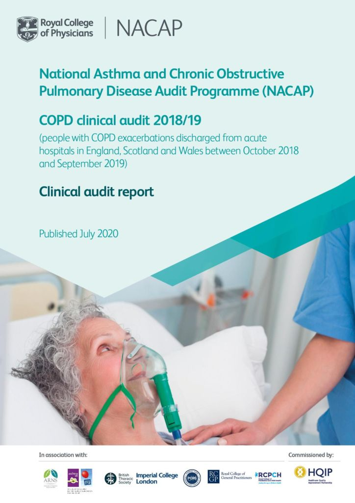 National Asthma and COPD Audit Programme: COPD clinical audit 2018/19