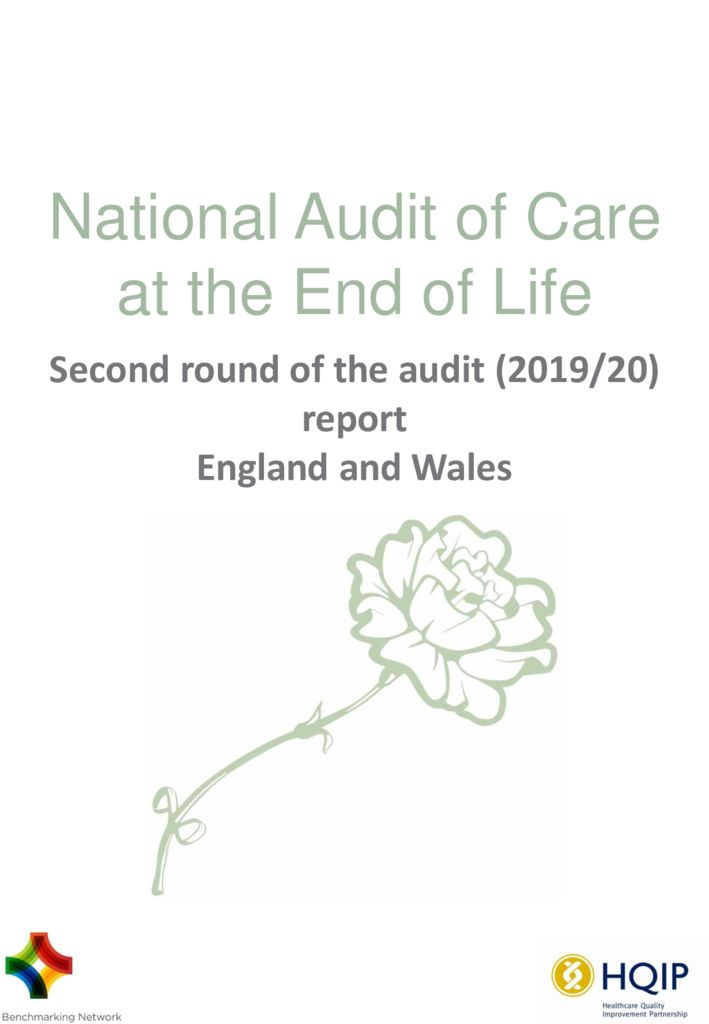 National Audit of Care at the End of Life – Second round Report