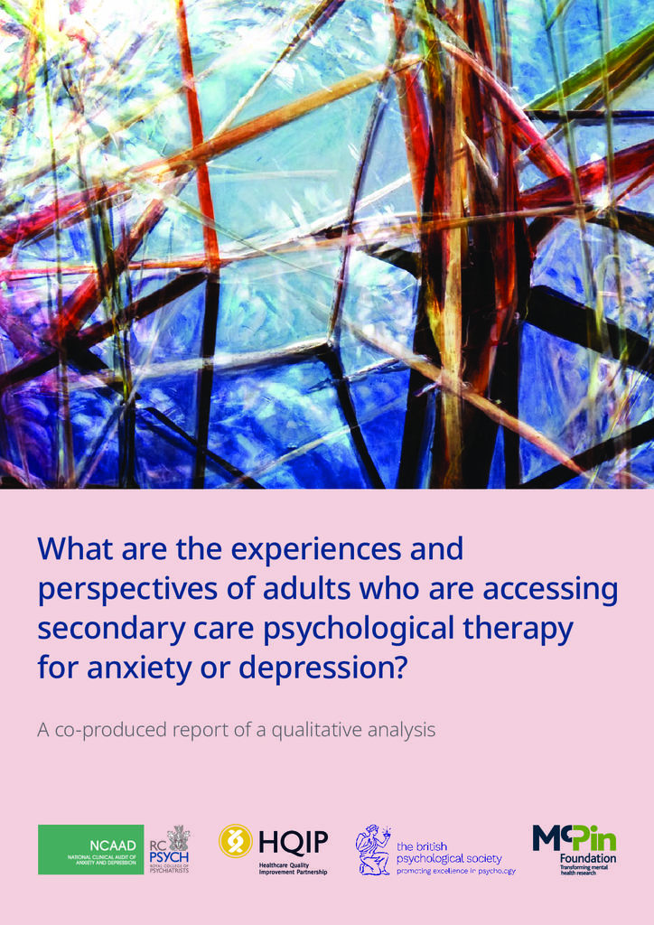 National Clinical Audit of Anxiety and Depression: Psychological Therapies Spotlight Report 2020