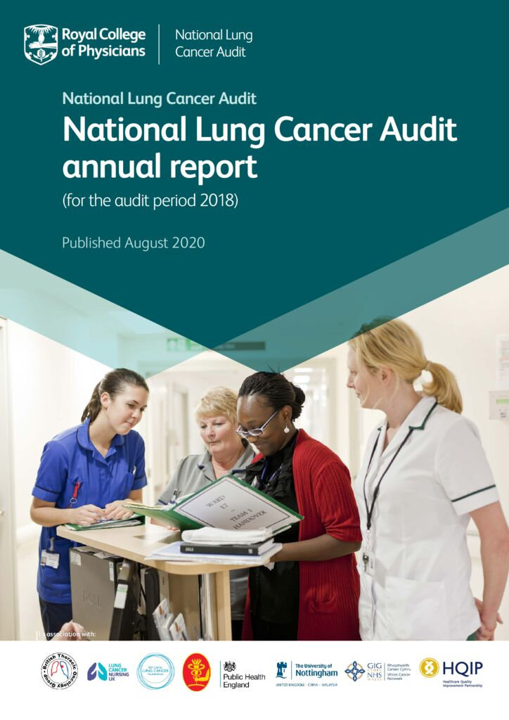 National Lung Cancer Audit annual report (for the audit period 2018)
