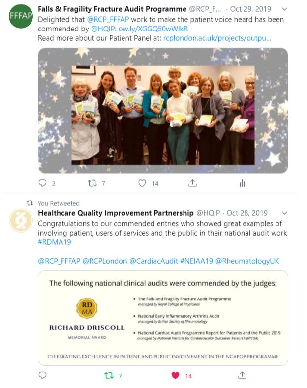 Richard Driscoll Memorial Award 2019 - FFFAP