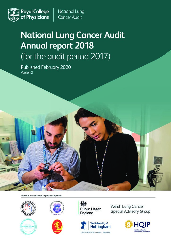 National Lung Cancer Audit – Annual Report 2018