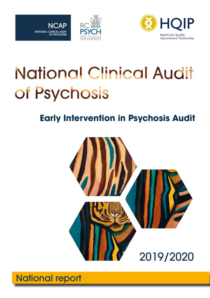 National Clinical Audit of Psychosis – Early Intervention in Psychosis 2019-2020 England Report