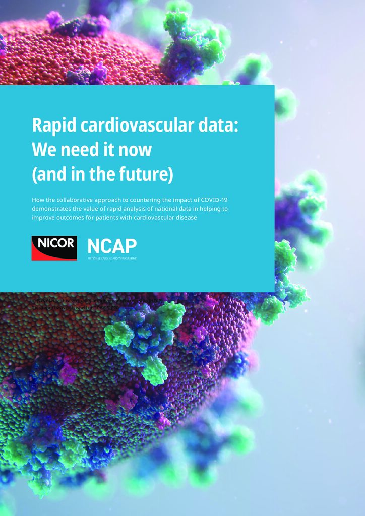 National Cardiac Audit Programme COVID-19 report