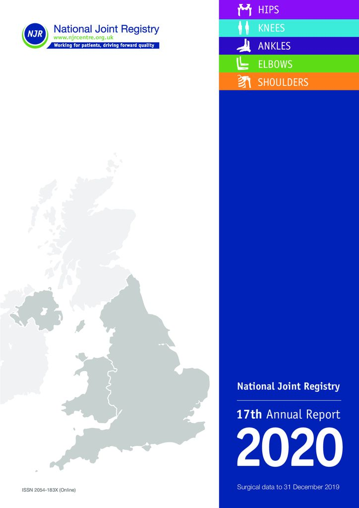 National Joint Registry 17th Annual Report 2020