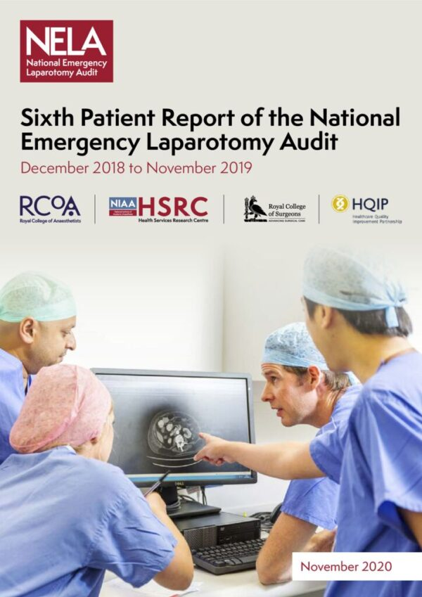 thumbnail of Ref. 255 The Sixth Patient Report of the NELA 2020 – FINAL November 2020