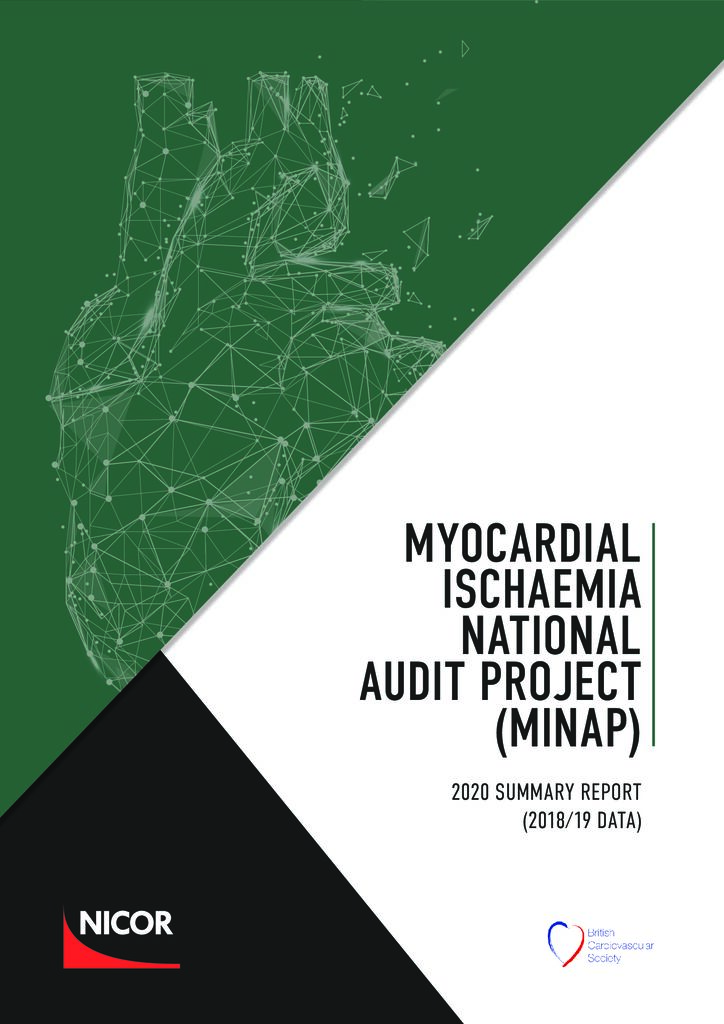 Myocardial Ischaemia National Audit Project (MINAP) – 2020 summary report