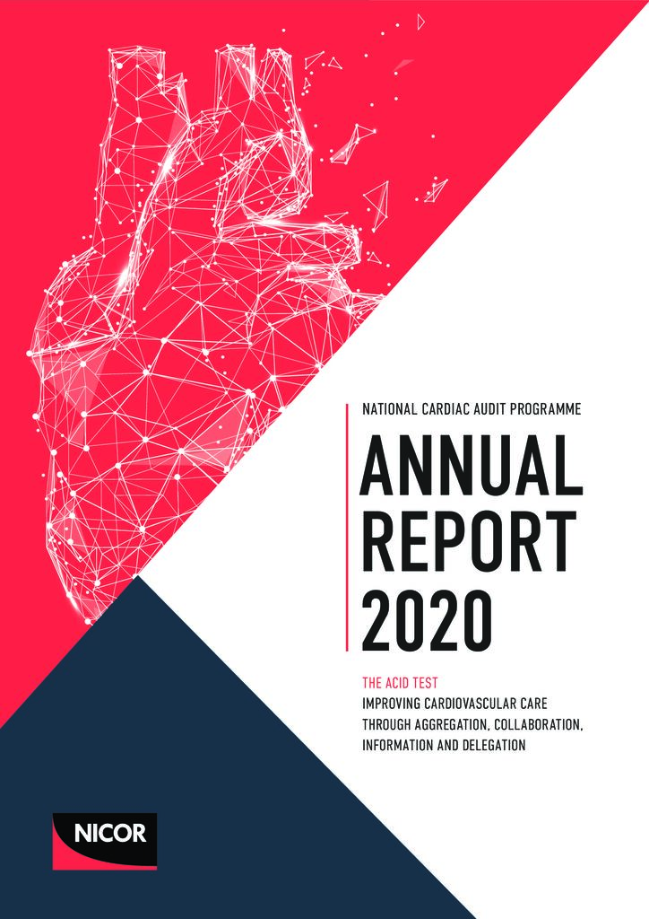 National Cardiac Audit Programme – Annual Report 2020