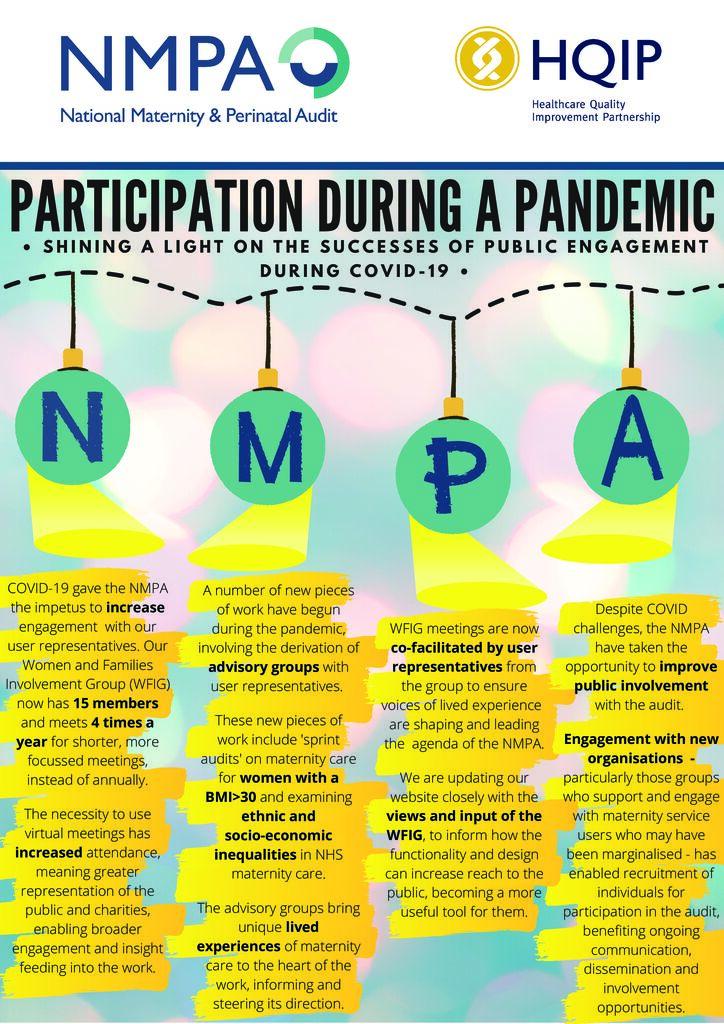 National Maternal Perinatal Audit – RDMA20 Case Study