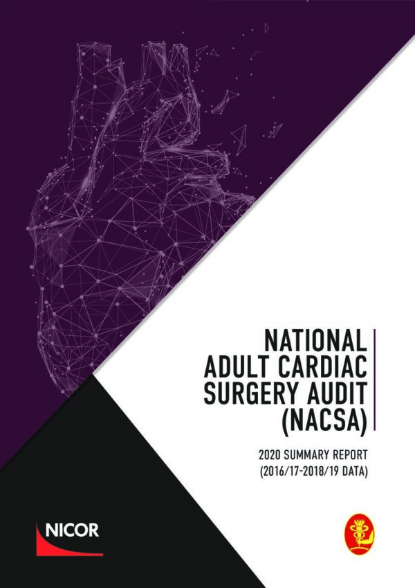 thumbnail of National Adult Cardiac Surgery Audit (NACSA) FINAL