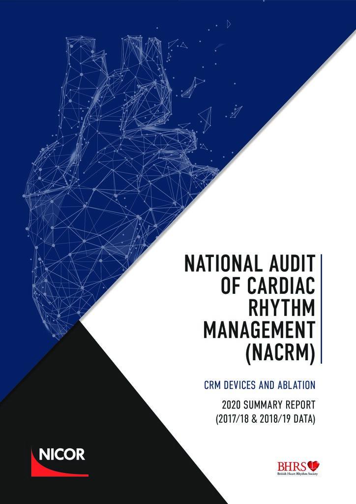 Cardiac Rhythm Management – 2020 summary report