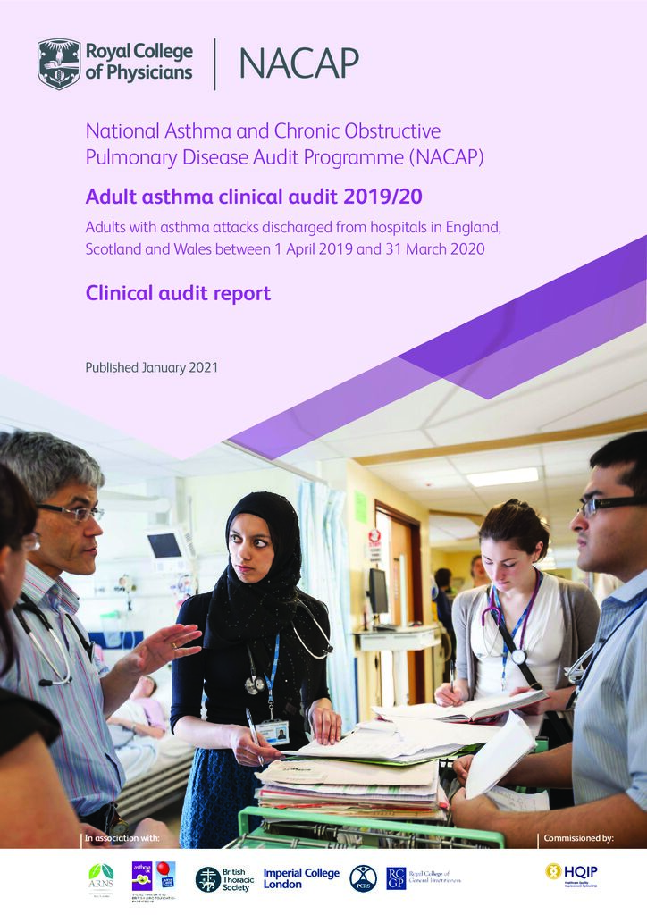Adult Asthma National Clinical Audit Report 2019-2020