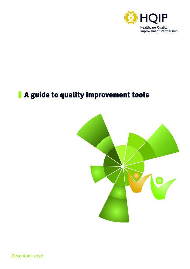 A guide to quality improvement tools