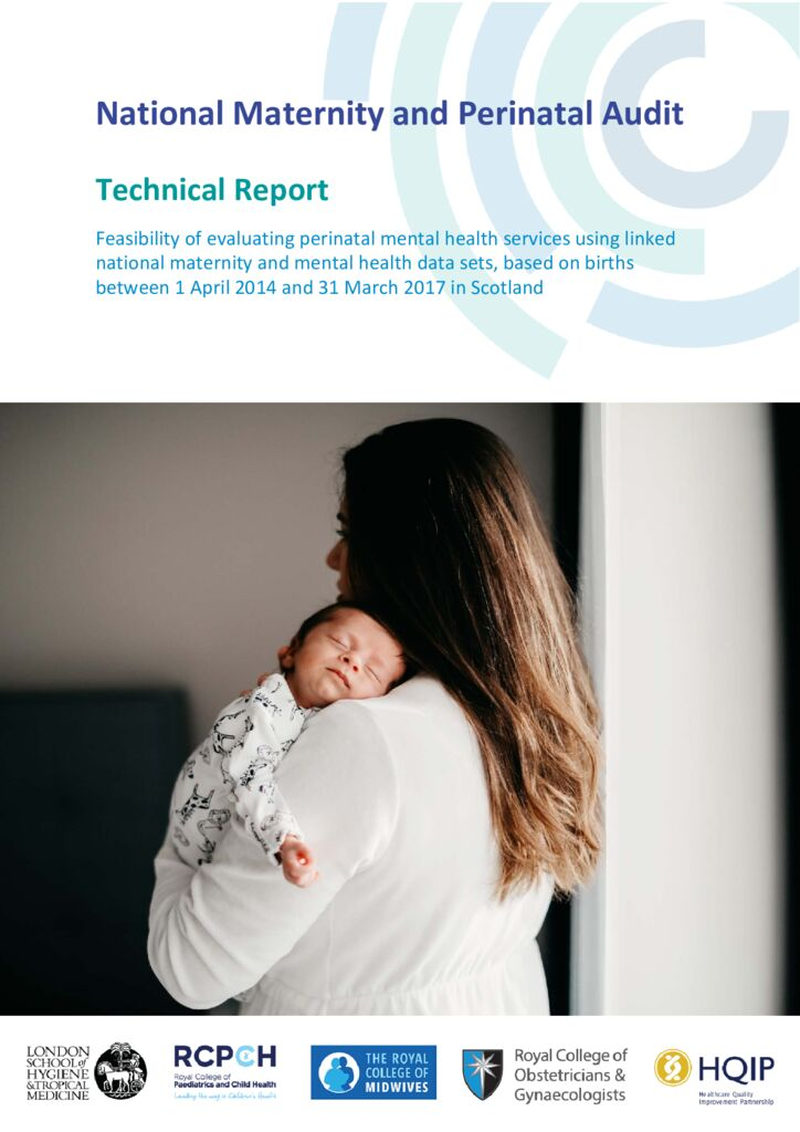National Maternity and Perinatal Audit – Mental health sprint audit report (Scotland data)
