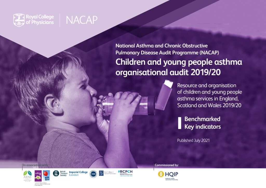 Children and young people asthma combined clinical and organisational audit 2019/20