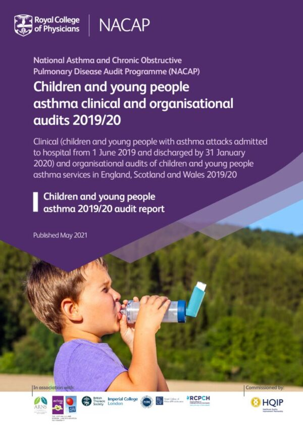 thumbnail of Children and young people asthma combined national clinical and organisational audit report – May 2021